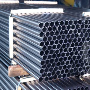 Труба электросварная нержавеющая 10х1мм сталь 08Х18Н10 DIN 11850 зеркальная