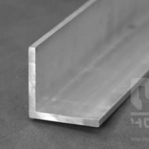 Уголок алюминиевый неравнополочный