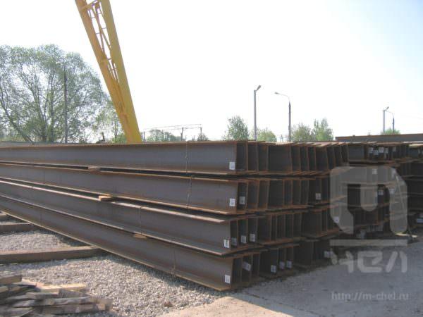 Балка двутавровая 100Ш2 сталь Ст3КП ГОСТ 535-88 широкополочная 12м