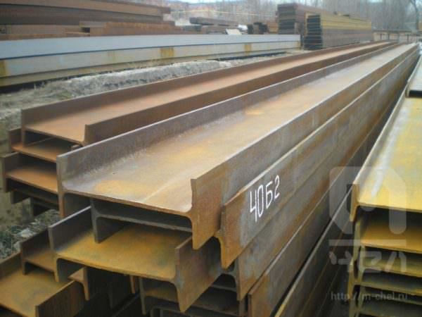 Балка двутавровая 40Ш1 сталь ст.3 ГОСТ 27772-88 широкополочная 12м